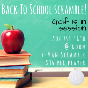 back 2 school scramble 8.9.17